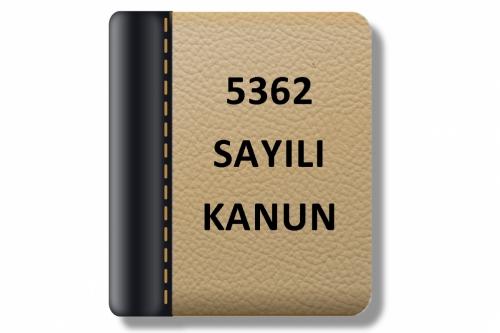 5362 Sayılı - Esnaf ve Sanatkarlar Meslek Kuruluşları Kanunu