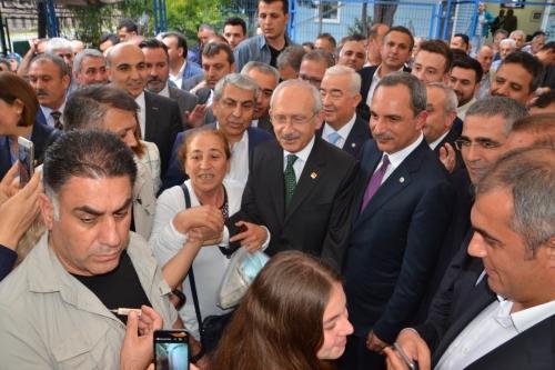 CHP Genel Başkanı Kemal Kılıçdaroğlu Odamızı ziyaret etti