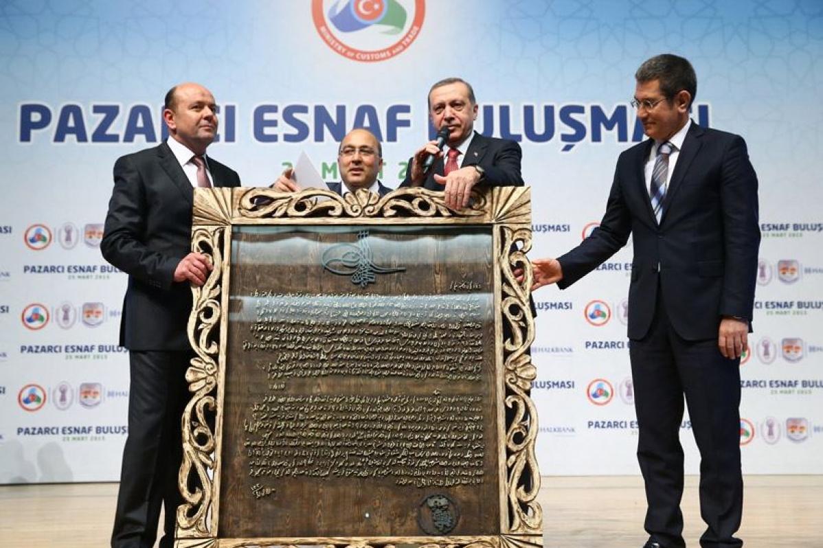 Cumhurbaşkanı Erdoğan, Pazarcı Esnaf Buluşması