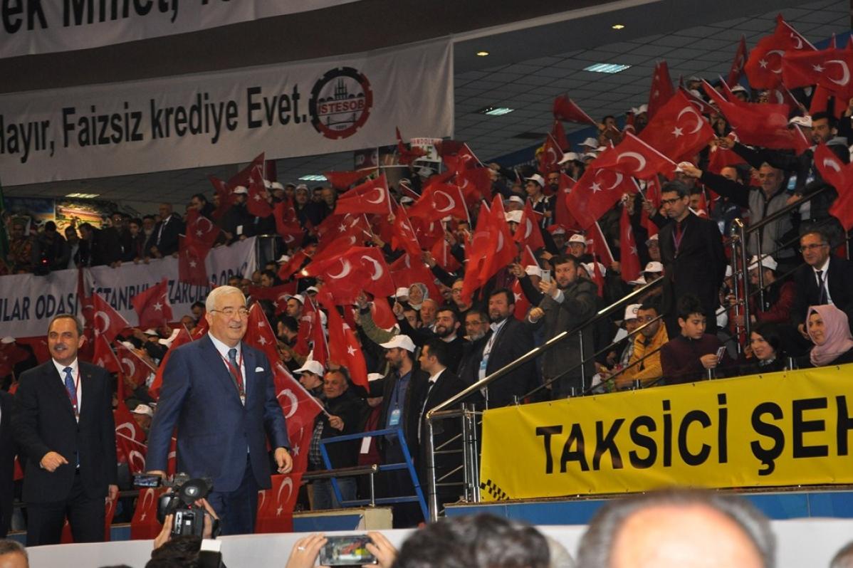Cumhurbaşkanı İstanbul'da Esnaf  Sanatkarla Buluştu