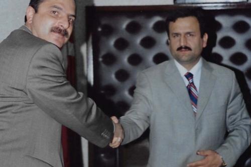 G.O.Paşa Belediye Başkanı Dr.Erhan Erol'u Makamında Ziyaret