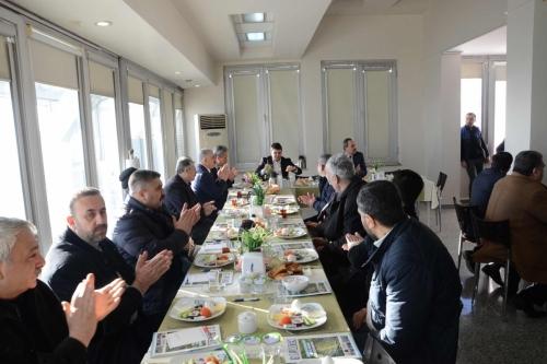 Gaziosmanpaşa Belediyesi ile Kahvaltılı Toplantı