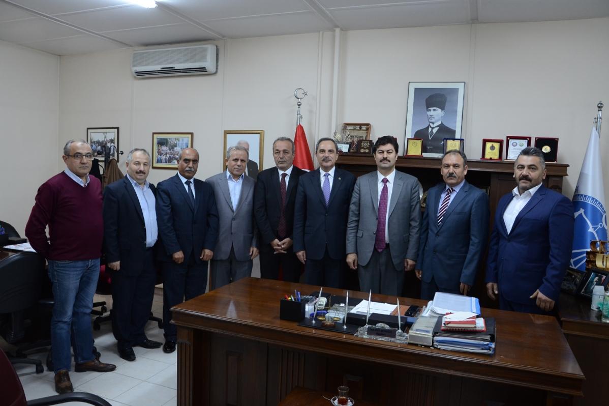 Gümrük ve Ticaret Bakanlığı Esnaf ve Sanatkârlar Genel Müdürü Necmettin Erkan odamızı ziyaret etti.