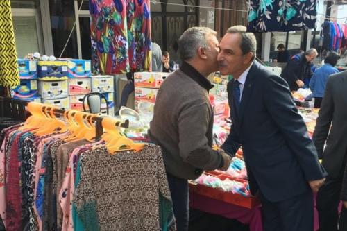 Oda Başkanımız Mesut Şengün Avcılar Çarşamba pazarı esnafını ziyaret etti.