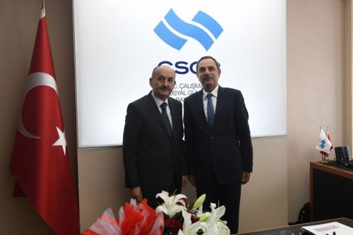 Oda Başkanımız Mesut Şengün Bakan Müezzinoğlu'na Esnafın Sorunlarını Anlattı