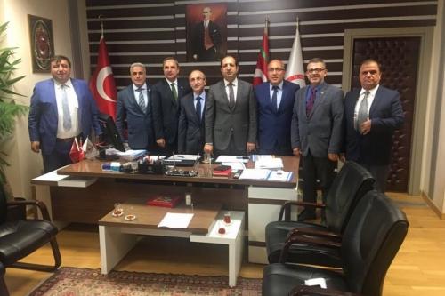 Oda Başkanımız Mesut Şengün'ün de katıldığı Gümrük ve Ticaret Bakanlığında gerçekleşen toplantıda esnafımızın sorunları dile getirildi.