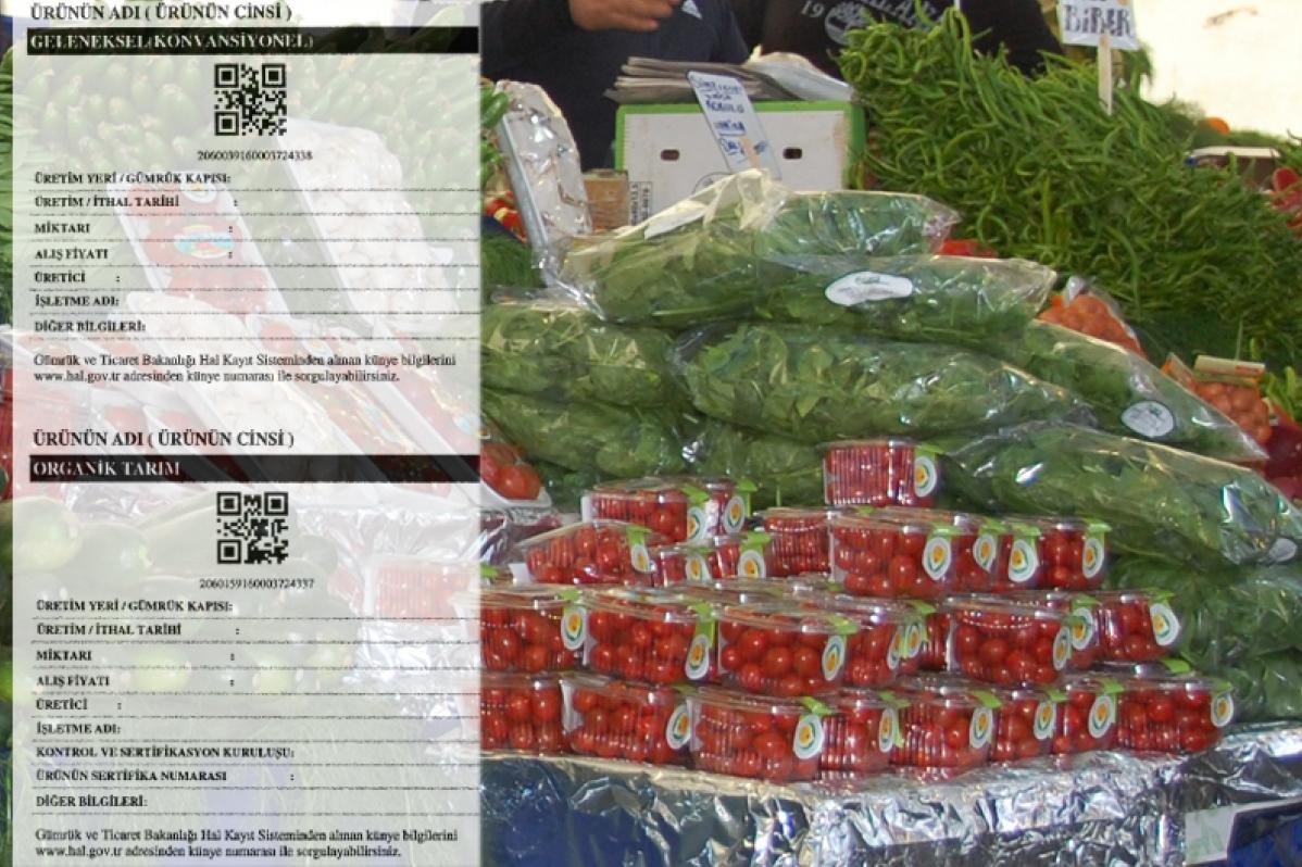 Sebze ve meyvede künye düzenlenmesi